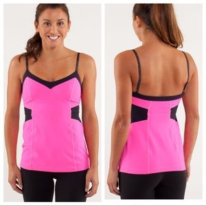 Lululemon Elongate Tank In Raspberry Glo Light